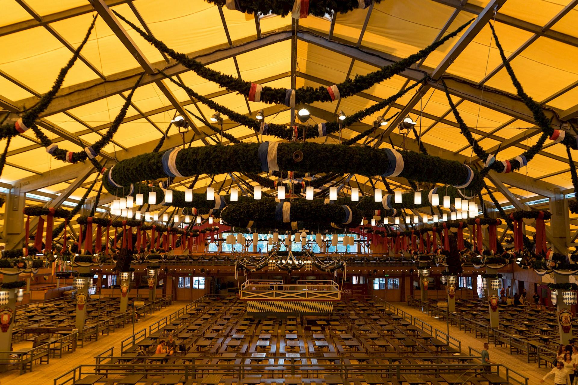 LAGEPLAN :: Festzelt Schottenhamel